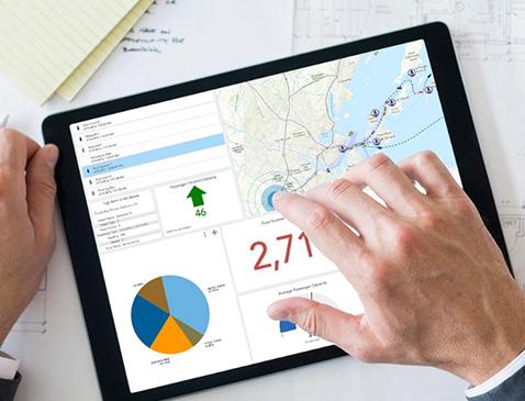 ArcGIS Online, ArcGIS Enterprise Tworzenie dashboardów