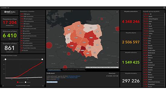 Cyfrowe mapy dla Polski