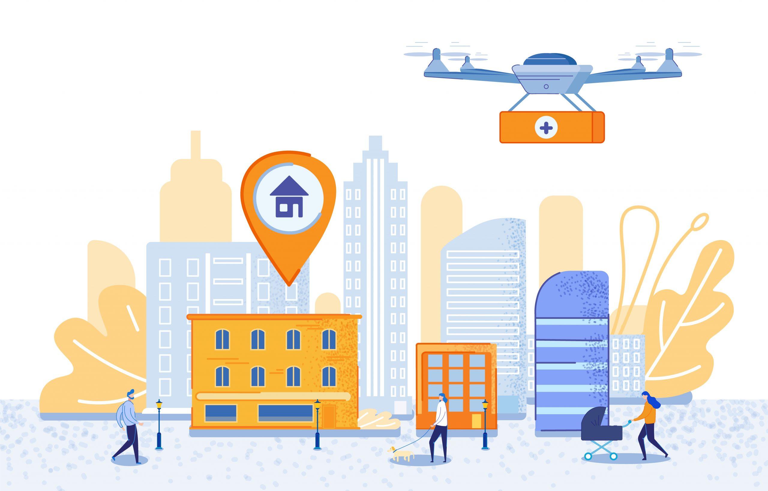 GIS i drony w służbie człowiekowi – wsparcie bezpieczeństwa publicznego