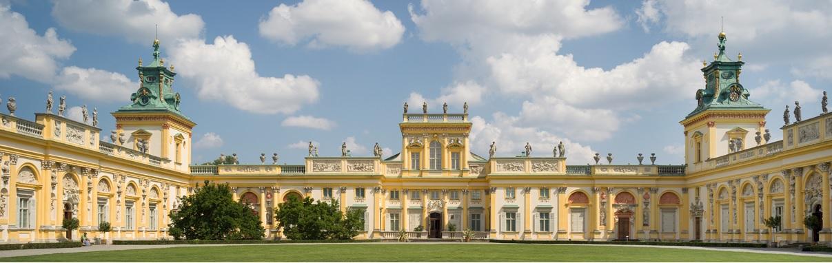 Wirtualna wycieczka po geoportalu Muzeum Pałacu Króla Jana III w Wilanowie